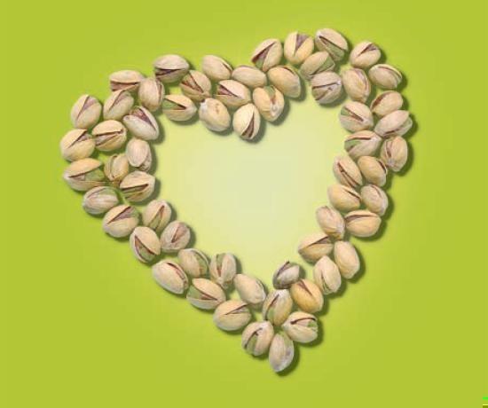 Pistachio heart