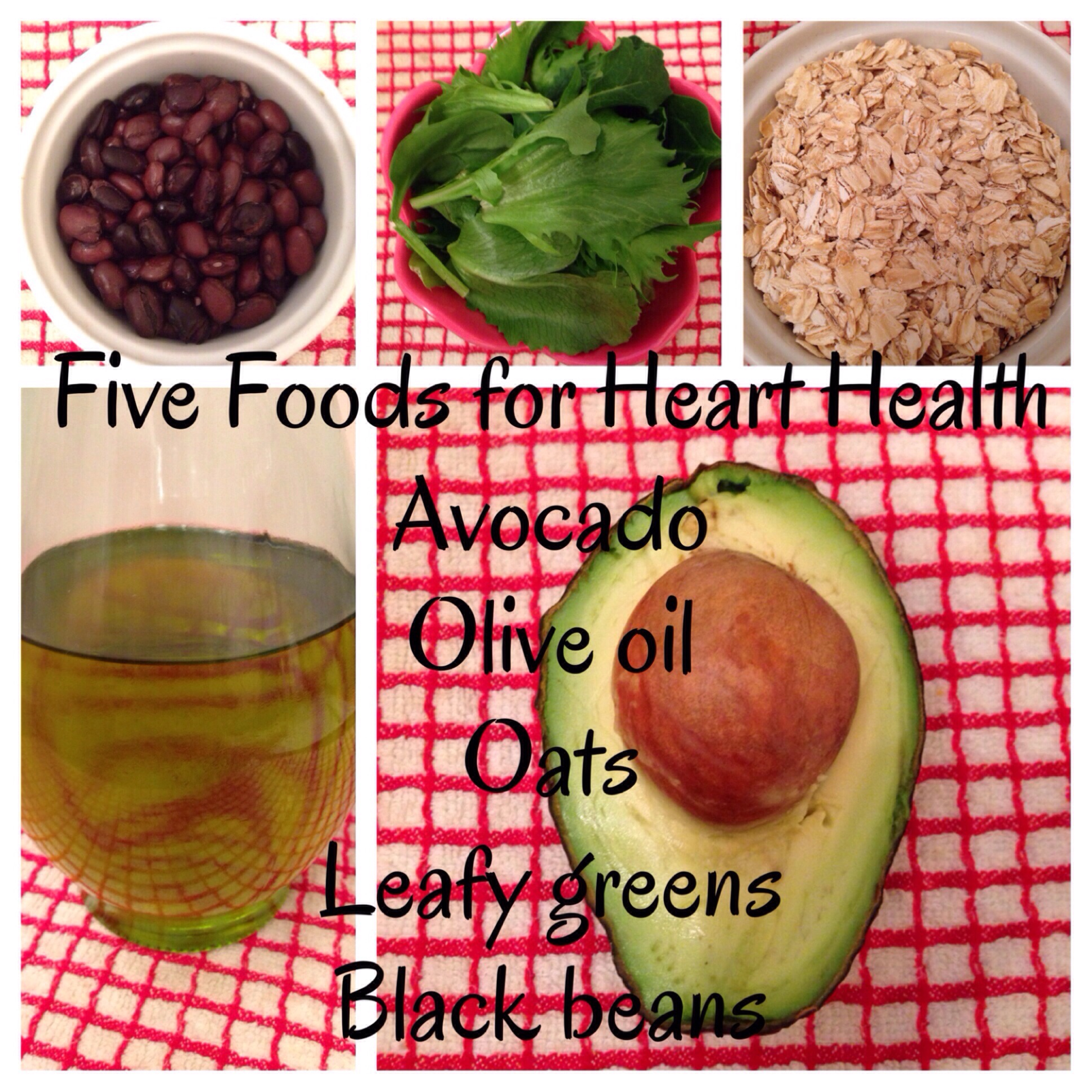 Food and good health - Heart Healthy Foods Jpg