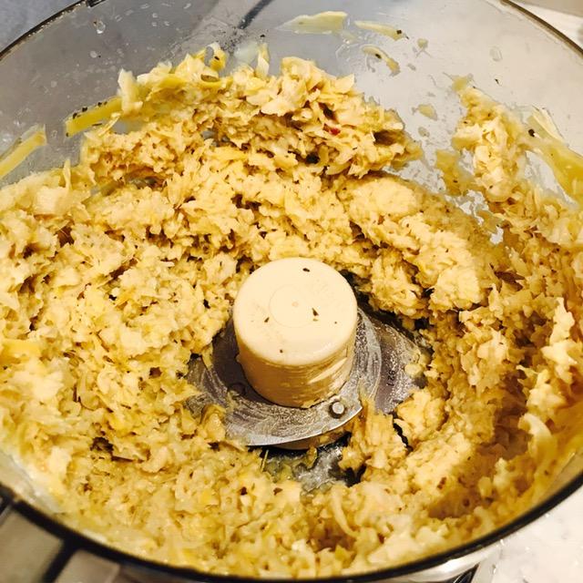 blended artichokes