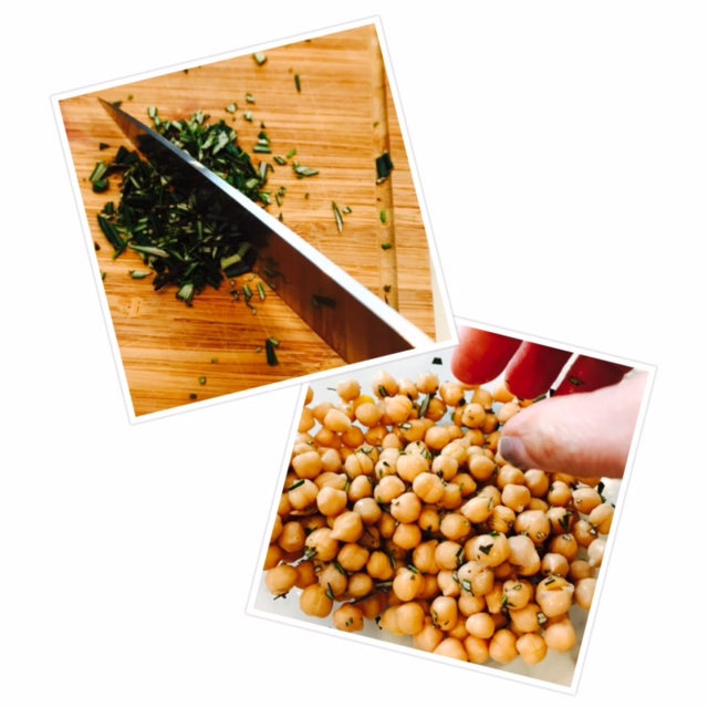 rosemary chickpeas