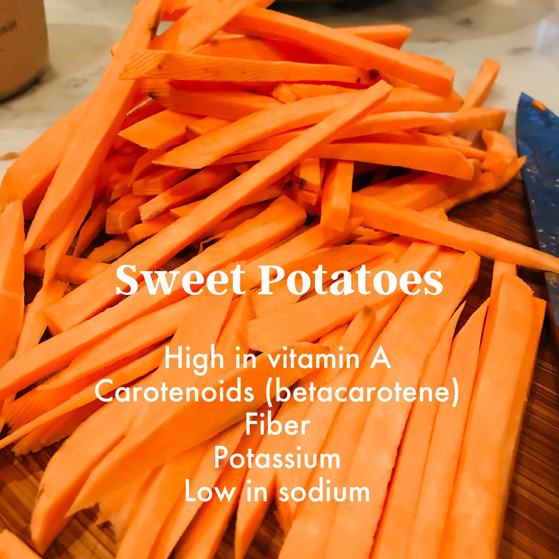 Garlic Sweet Potato Air Fries – Vicki Retelny